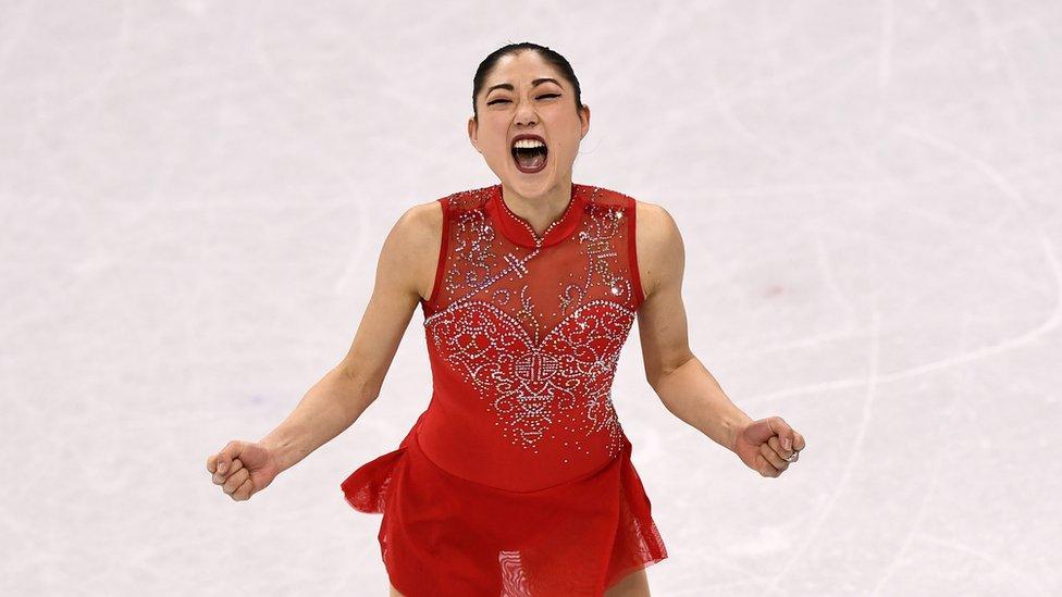 Nagasu bromeó con que su logro tal vez se debía a su ascendencia japonesa, ya que las otras dos patinadoras que hicieron axel triple en olimpiadas fueron japonesas.