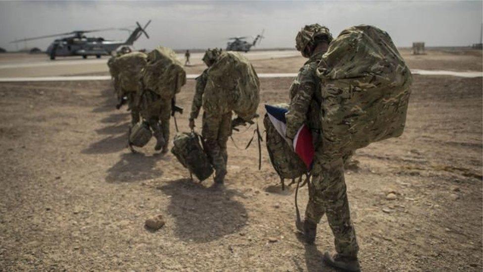 ناټو ځواکونه هم د افغان ټاکنو امنیت کې برخه اخلي