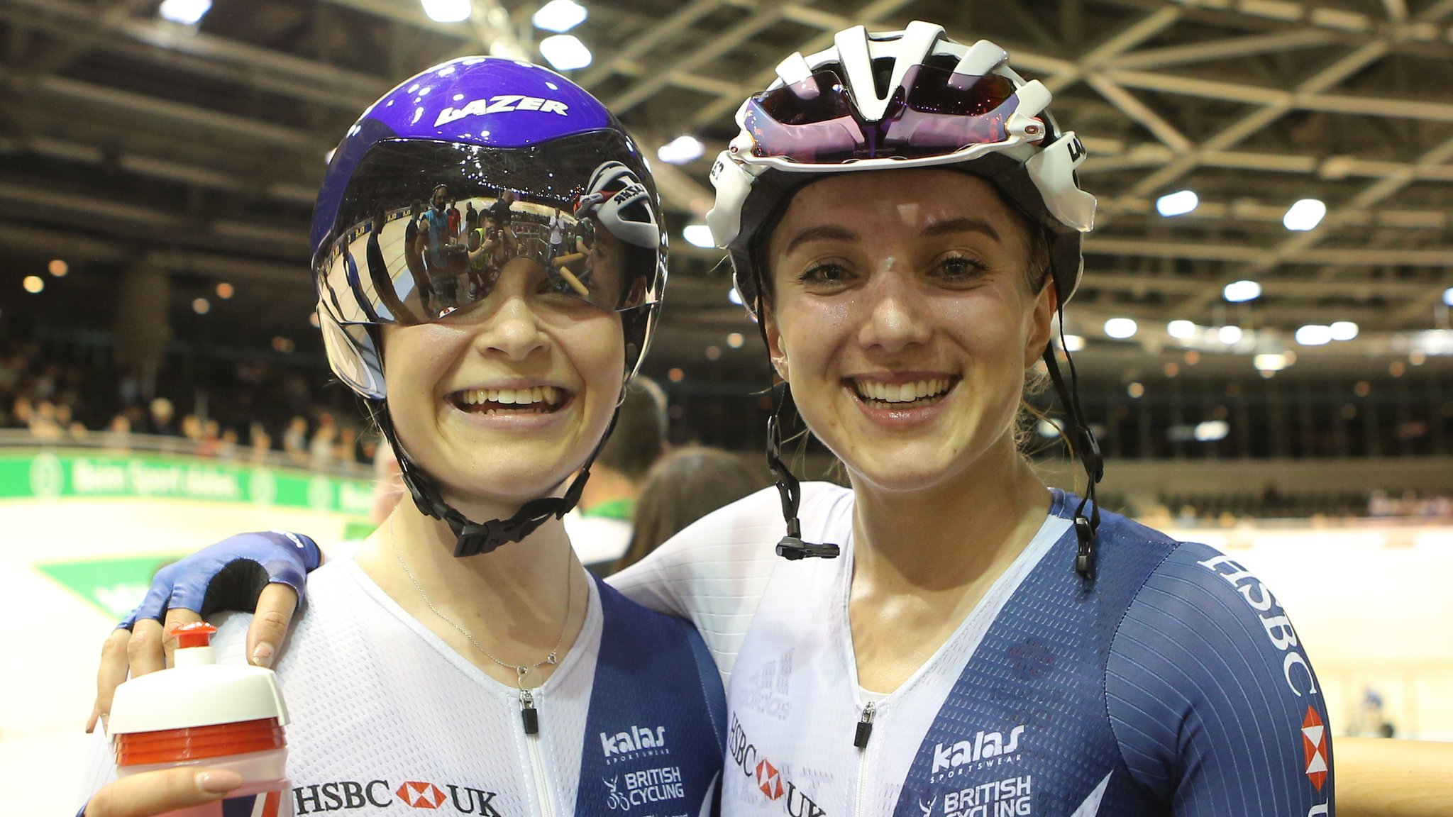 European Track Championships 2017: Britain's Elinor Barker and Ellie Dickinson win madison gold