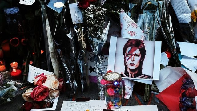 Fans in NY: 'Bowie was really special'