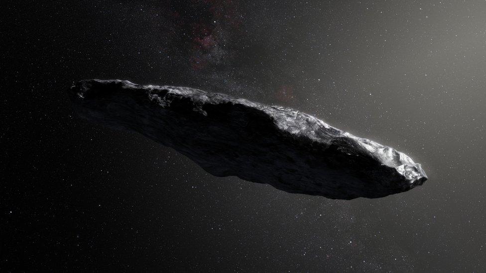 Interstellar asteroid checked for alien technology