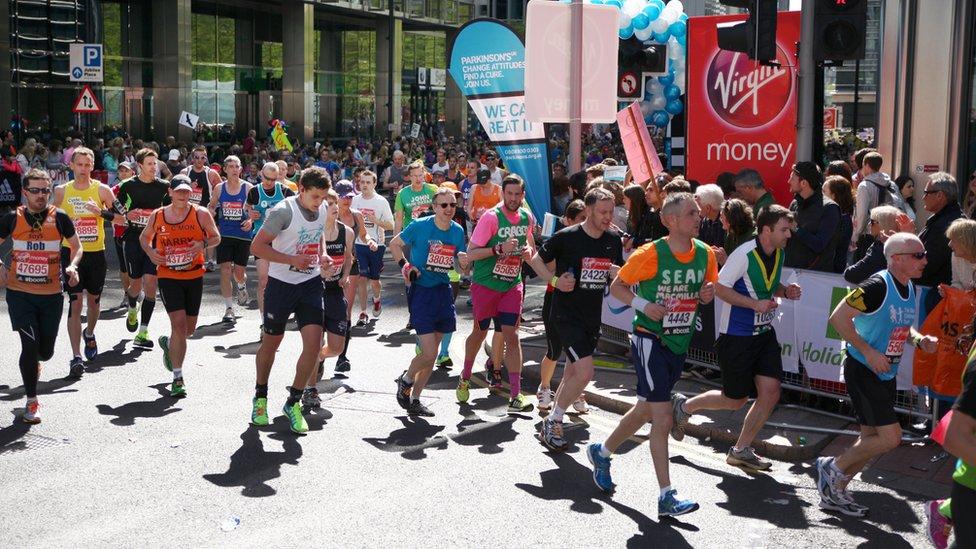 London Marathon: How to run in the heat
