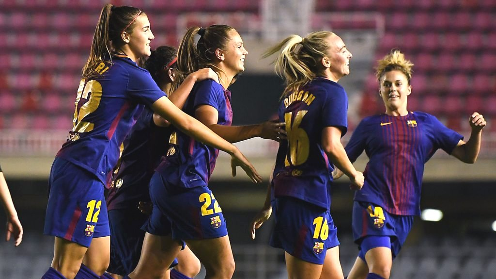Barcelona women target UEFA Women's Champions League trophy