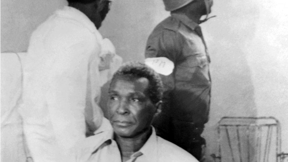 Former Equatorial Guinean president  Francisco Macías Nguema