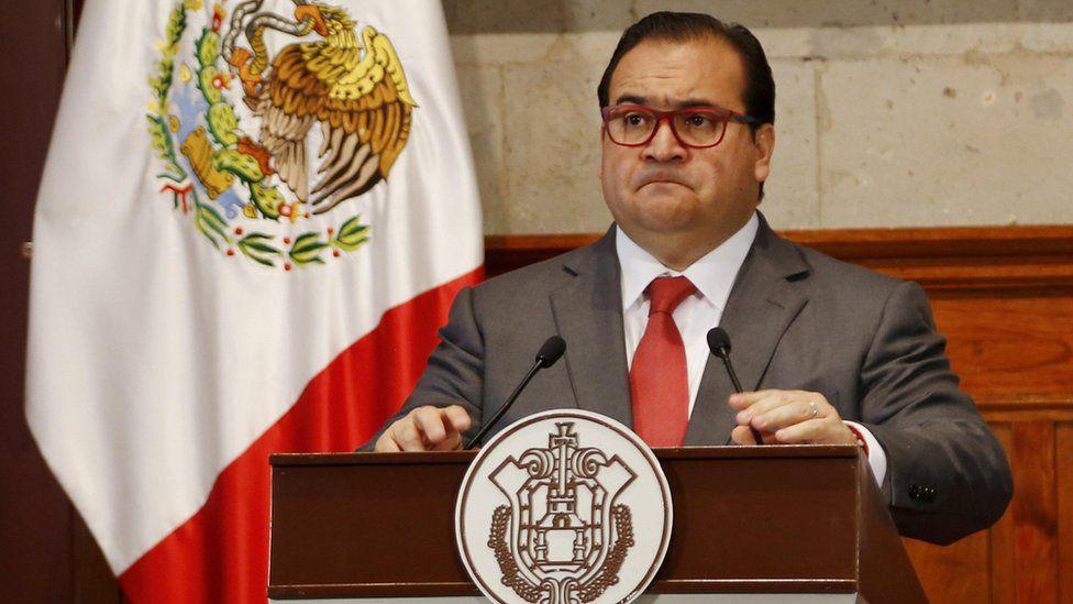Javier Duarte cuando era gobernador