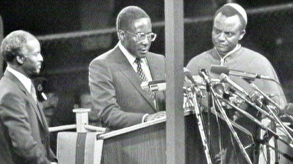 Robert Mugabe: From war hero to resignation as president