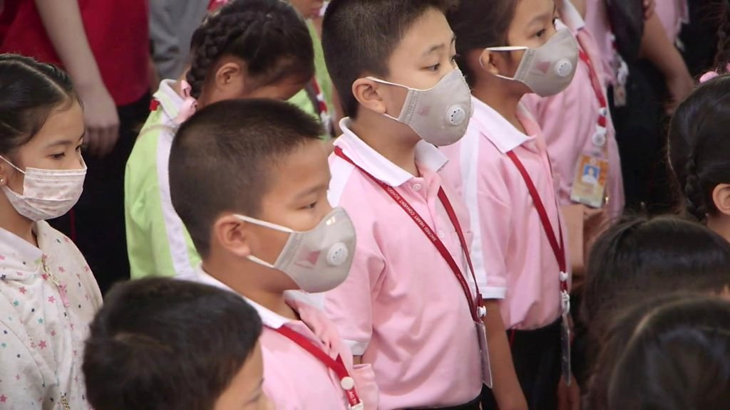 Thailand pollution crisis: The city where face masks sell out