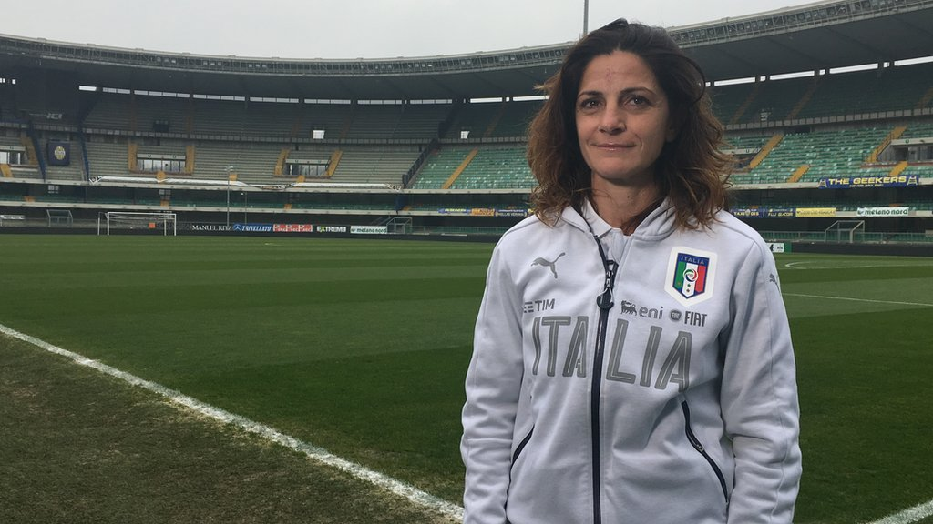 'They call me Mister' - the first woman to coach an Italian national side