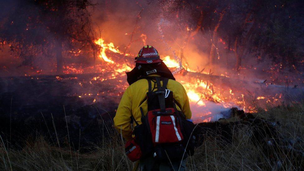 Кількість жертв пожеж у Каліфорнії зросла до 40 осіб
