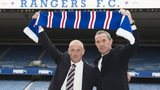 Mark Warburton (left) and David Weir