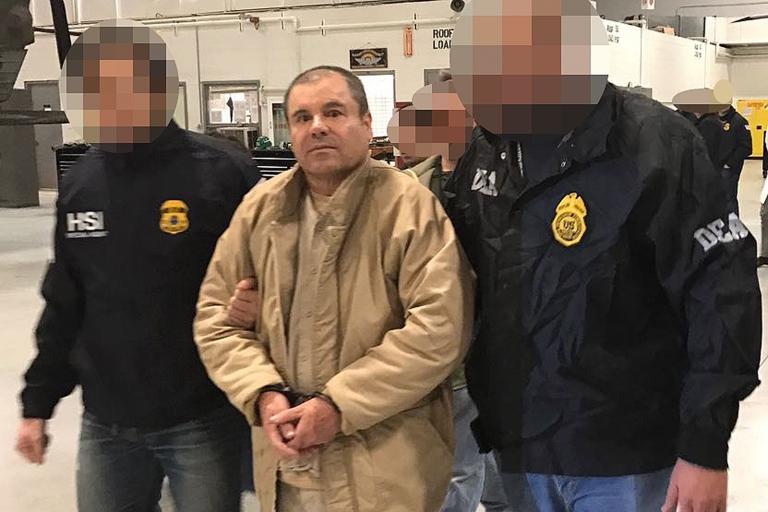 """""""El Chapo"""" Guzmán fue extraditado a Estados Unidos en enero."""
