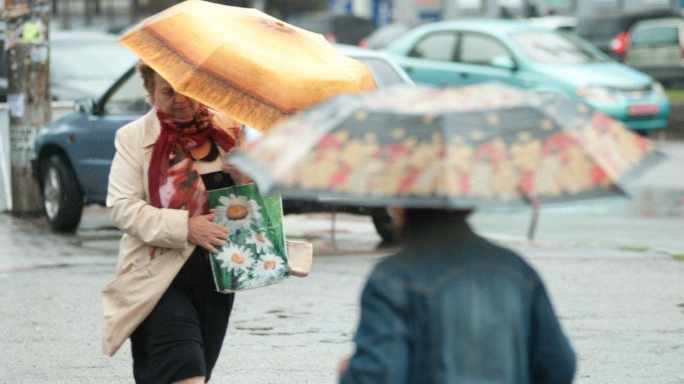В выходные в Украине ожидаются ливни и грозы