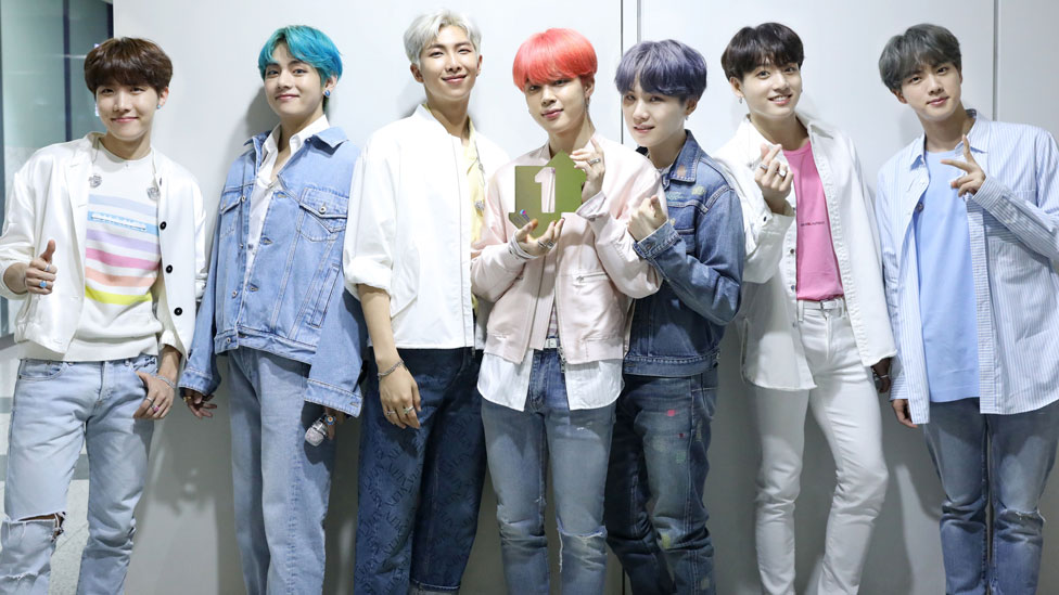 BTS become first Korean artists to top UK chart