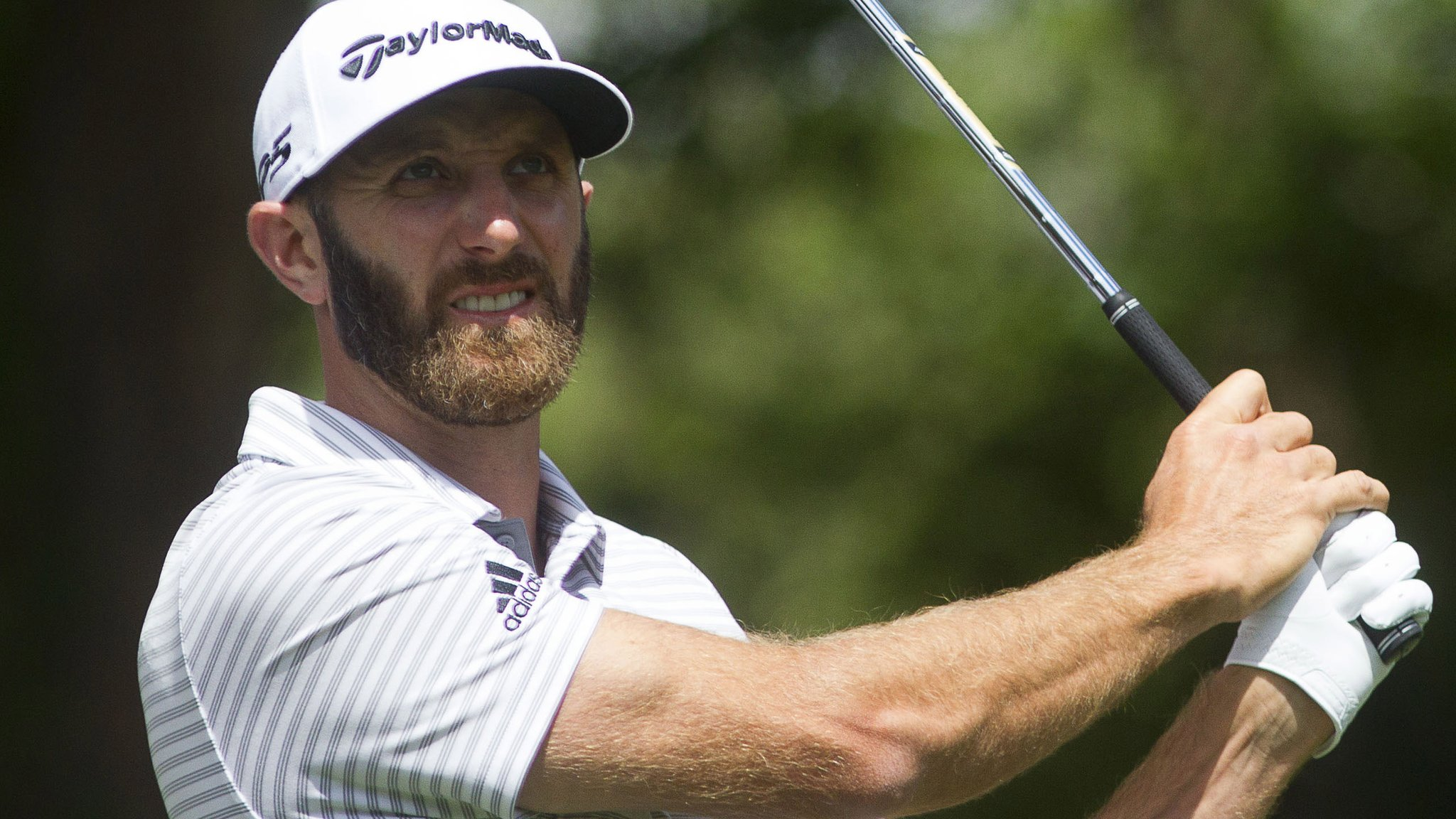 RBC Heritage: Dustin Johnson one ahead of Shane Lowry and Ian Poulter