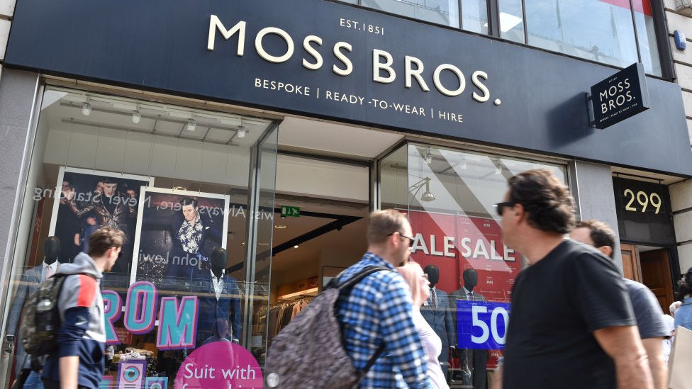 Moss Bros shares dive on profit warning