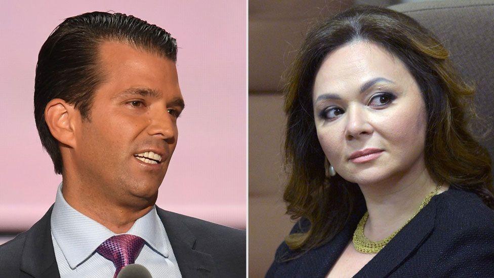 لقاء ترامب الابن والمحامية نتاليا أثار جدلا