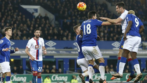 Video: Everton vs Crystal Palace