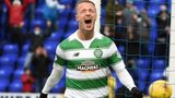 Celtic's Leigh Griffiths celebrates his goal