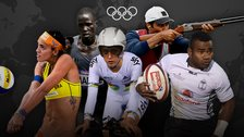 Rio Olympic hopefuls Fernanda, Guol Mading Maker, Laura Trott, Nasser Al-Attiyah and Jerry Tuwai