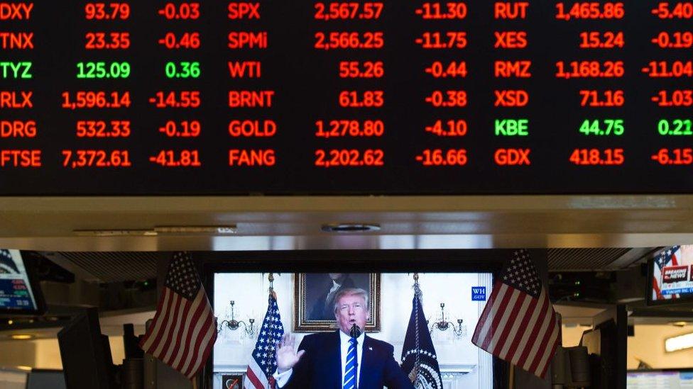 El buen comportamiento bursatil desde que Trump accedió a la presidencia se tradujo en miles de millones de dólares de riqueza.