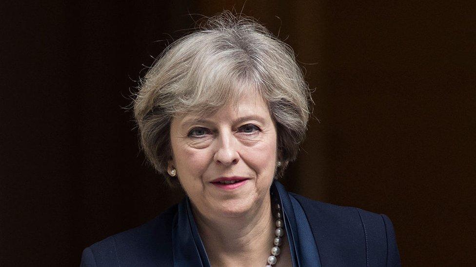 英國首相特里莎·梅