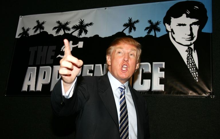 Trump hizo popular su manera de despedir a los concursantes.