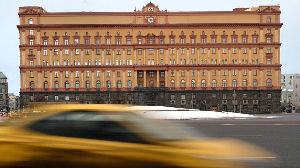 Moscow - Lubyanka, FSB HQ, 30 Dec 16