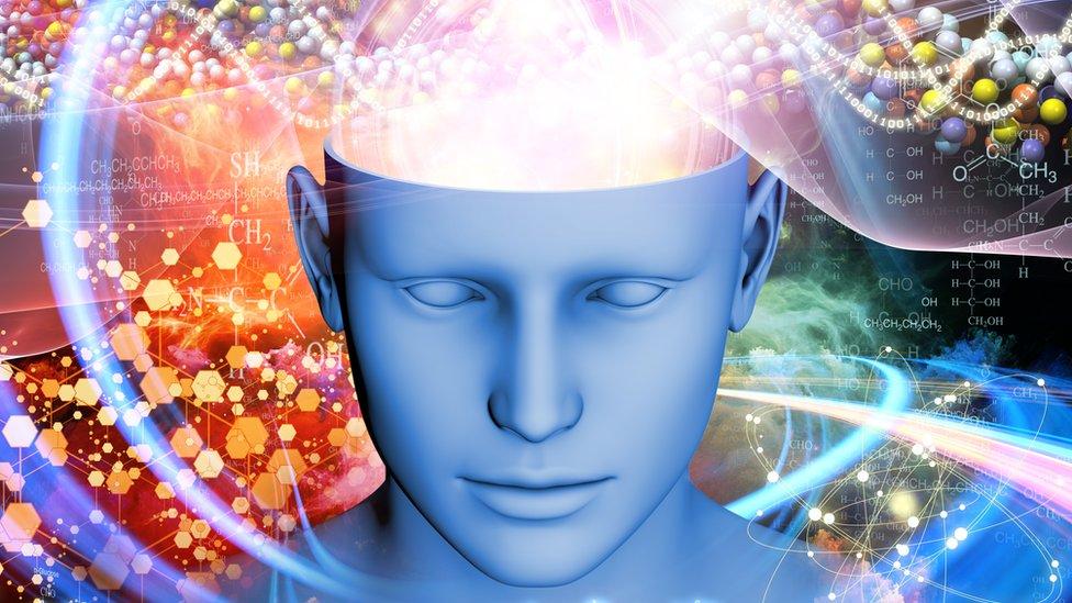 Arte conceptual de un cerebro activo soñando