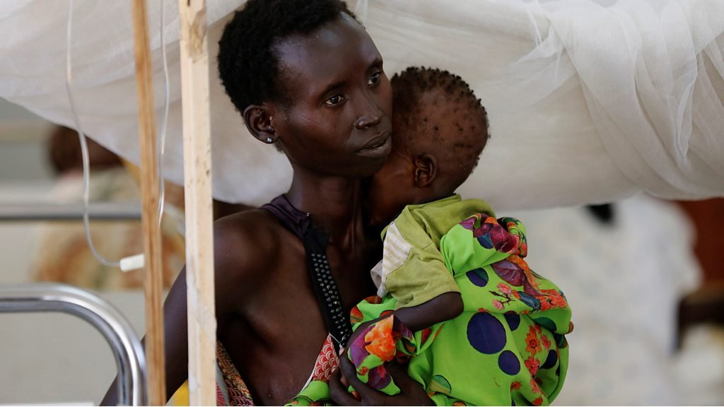UN: '1.4m children' face starving to death in Africa