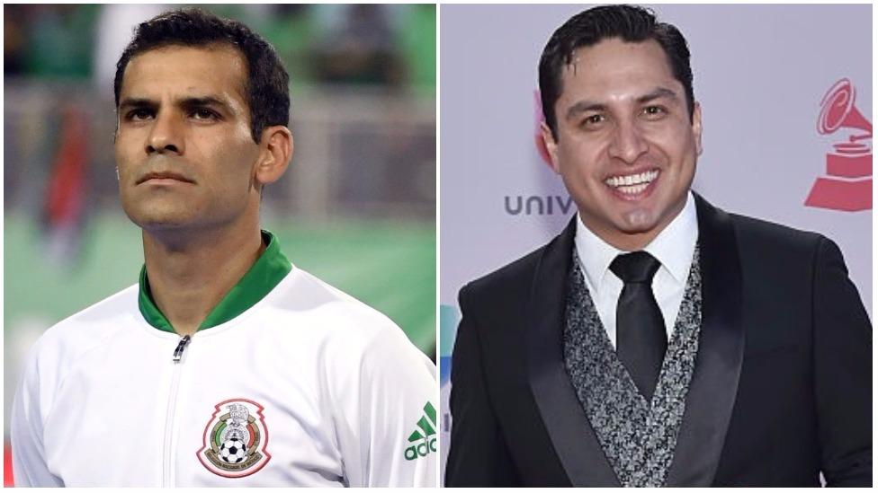 Rafael Márquez y Julión Álvarez
