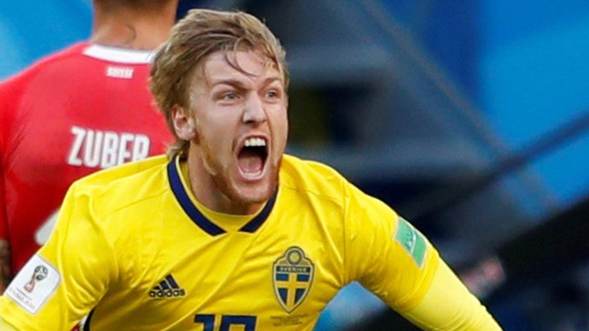 World Cup 2018: Emil Forsberg gives Sweden win over Switzerland