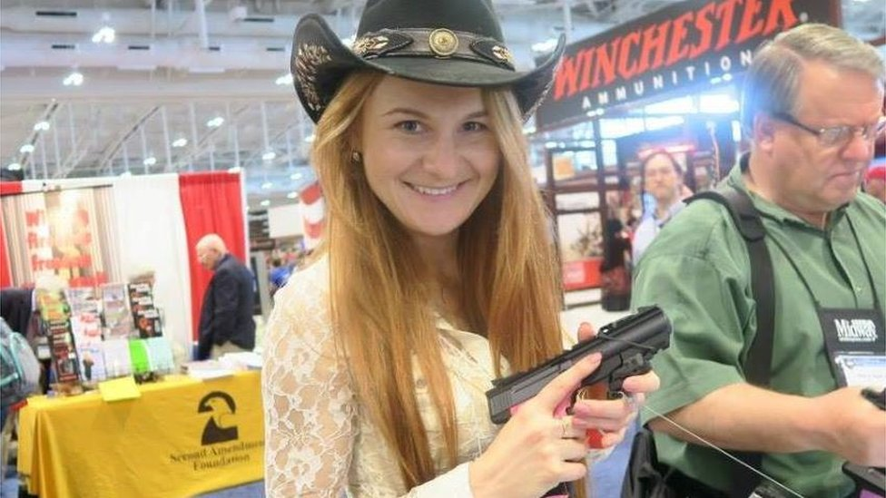 Maria Butina: How alleged Russia spy schmoozed US elite | BBC