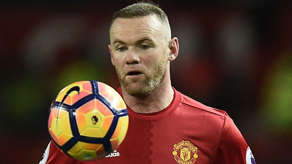 Mourinho not ruling out Rooney Man Utd exit