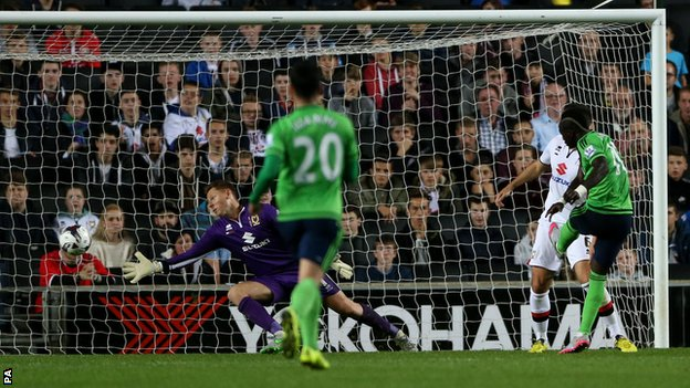 Video: Milton Keynes Dons vs Southampton