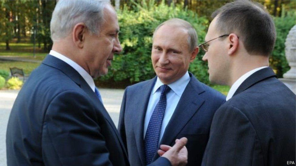 قلق إسرائيلي من نفوذ إيران في سوريا