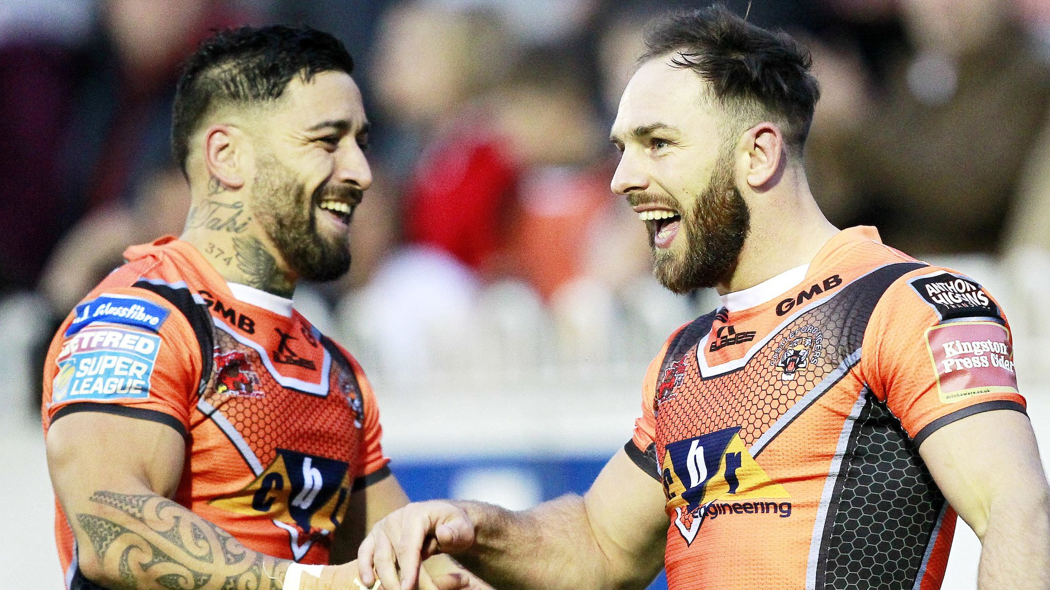 Castleford go top with 50-point win over Wigan