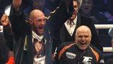 Fury celebrates