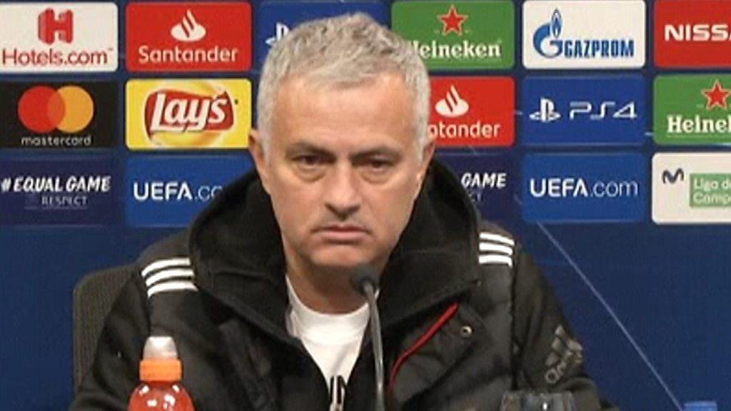 Jose Mourinho: Champions League qualification 'is a success' for Man Utd
