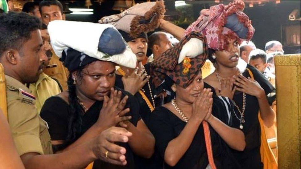 দক্ষিণ ভারতের শবরীমালা মন্দিরে নারীরা এখনো নিষিদ্ধ, তবে ঢুকতে দেয়া হলো চারজন ট্রান্সজেন্ডারকে