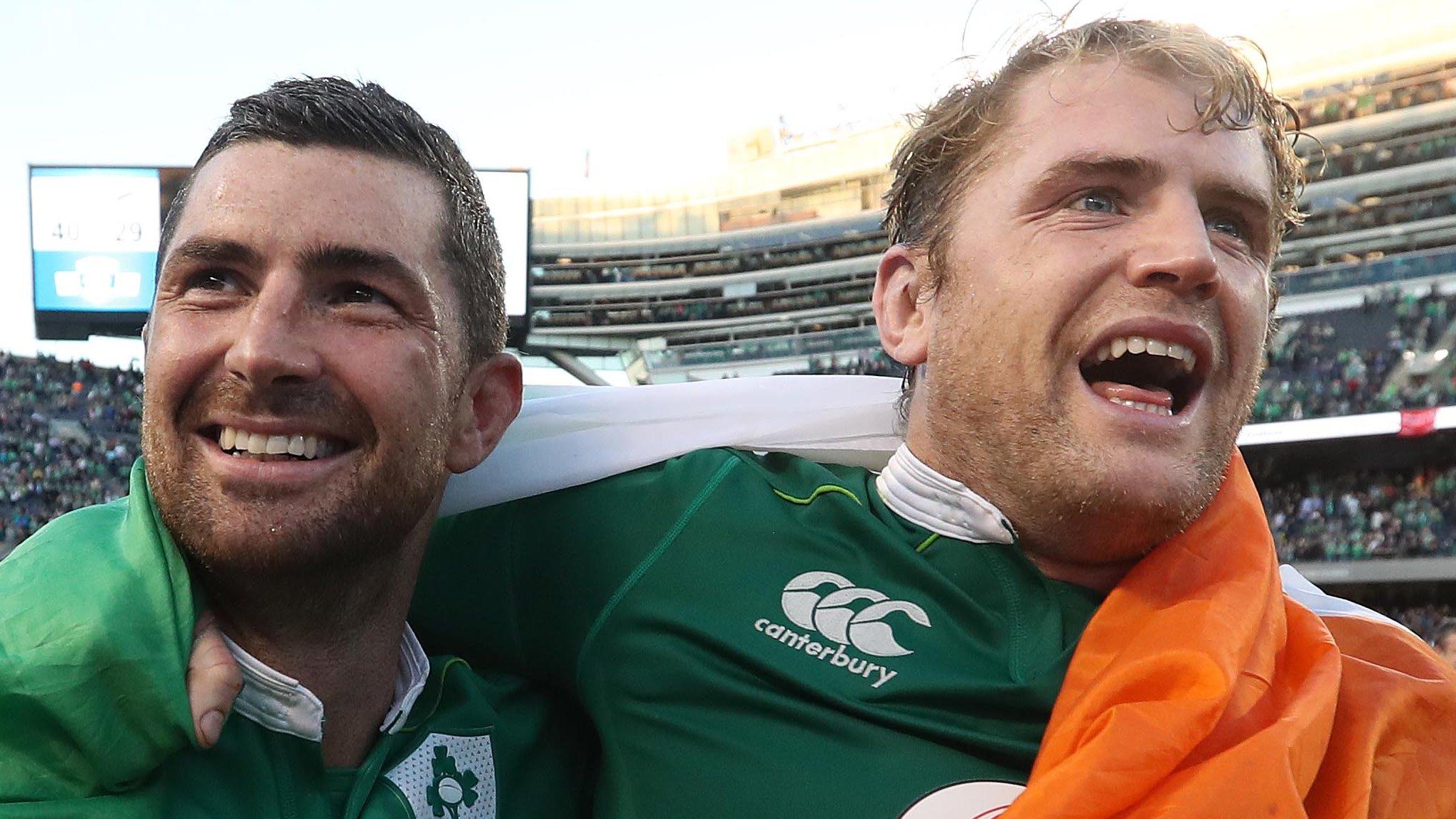 British & Irish Lions: Jamie Heaslip & Rob Kearney suffer injury setbacks