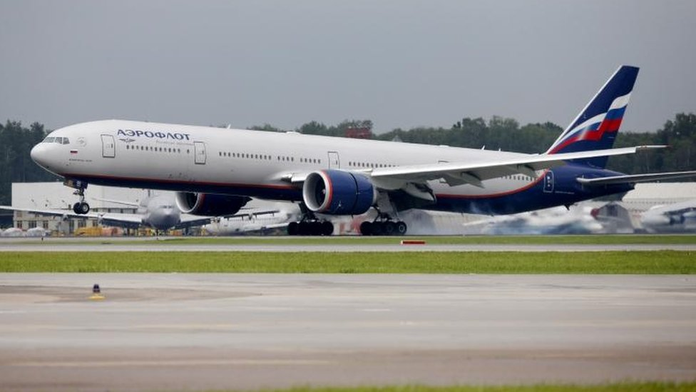 Avión Aeroflot.