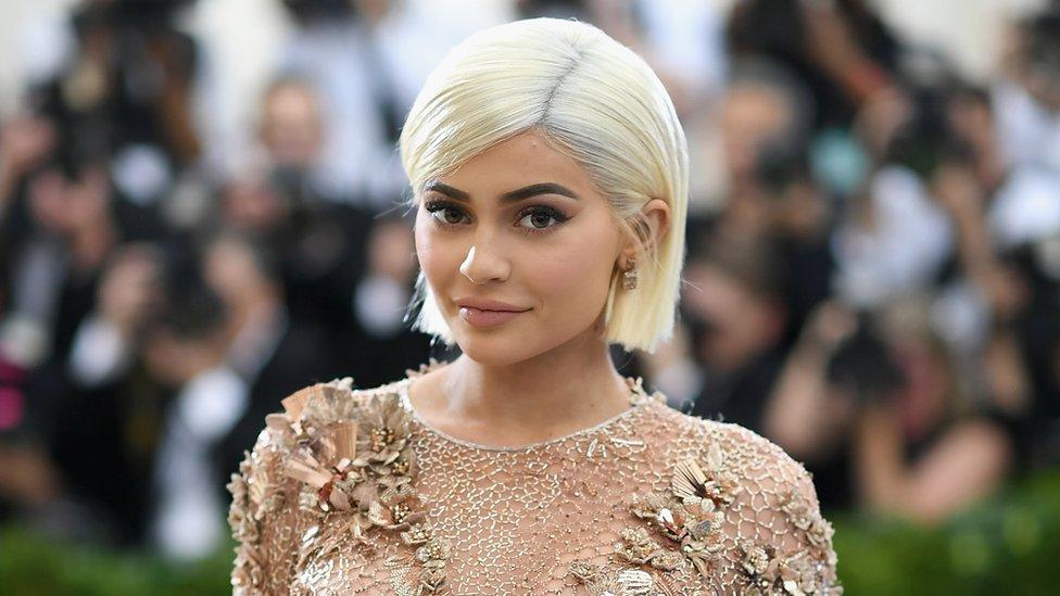 Kylie Jenner en Nueva York en 2017