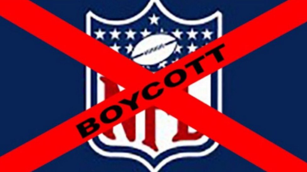 Trump NFL row: #TakeAKnee versus #BoycottNFL