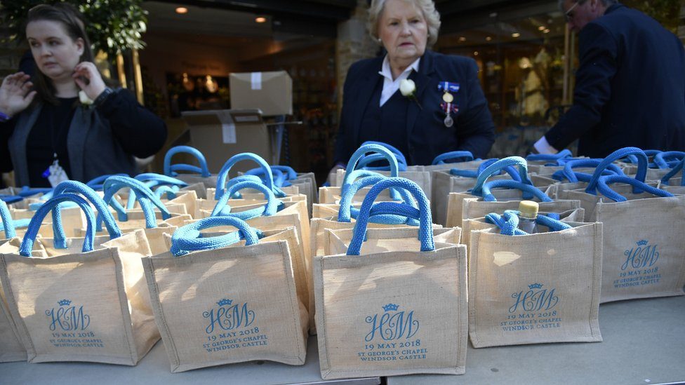 Royal wedding 2018: Guests sell gift bags online