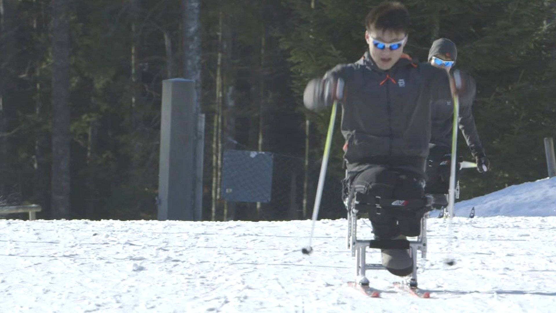 North Koreans aiming for para-sport glory