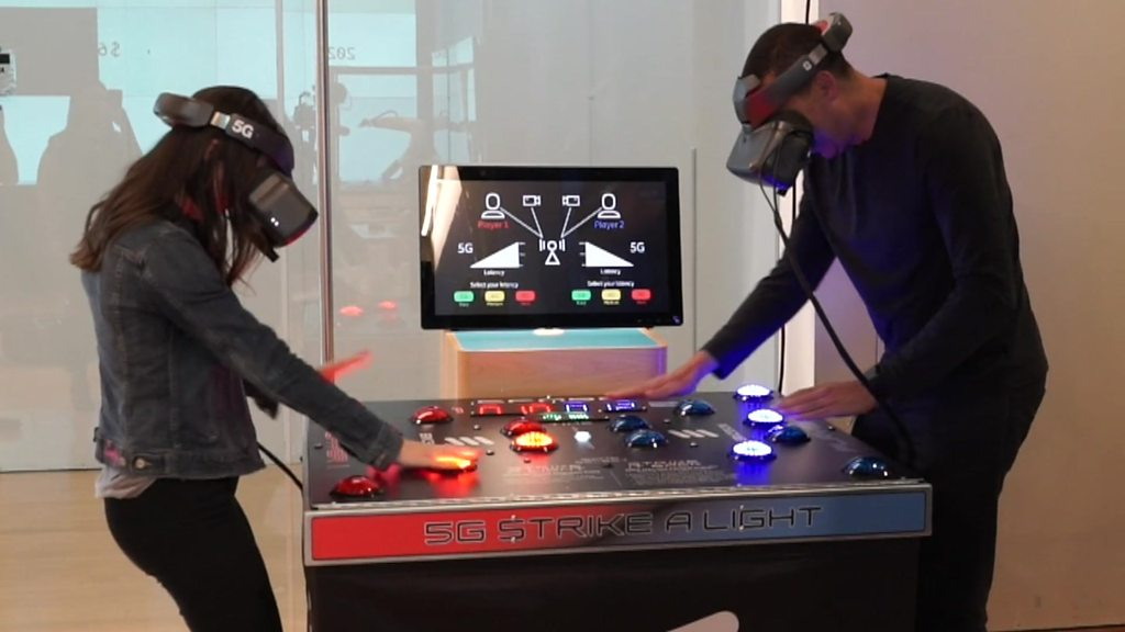 VR game shows how fast 5G could be