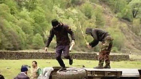 Violent protests erupt at Georgia's Pankisi Gorge