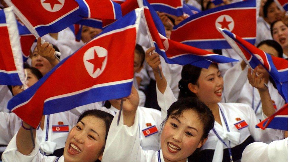 2003年8月21日在韓國大邱世界大學生運動會開幕式上