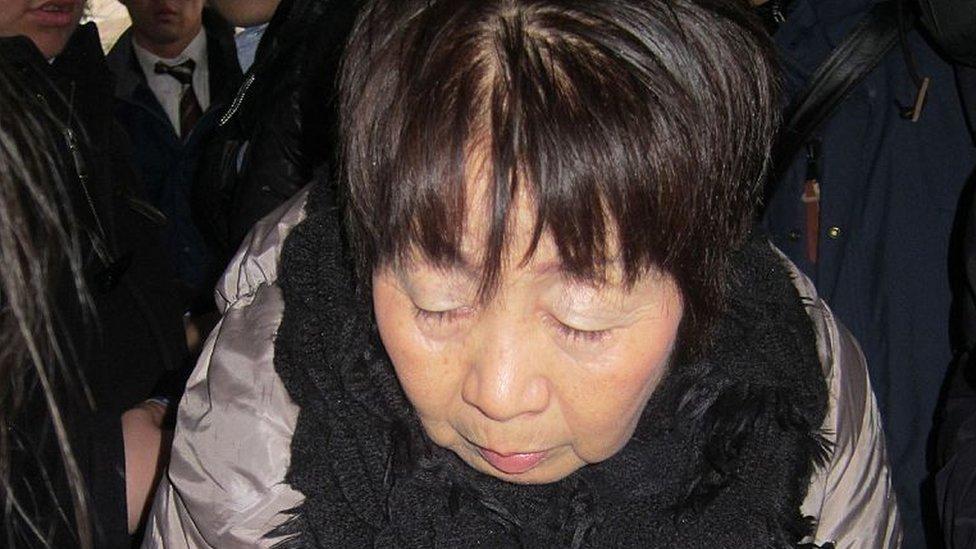 Chisako Kakehi en marzo de 2014