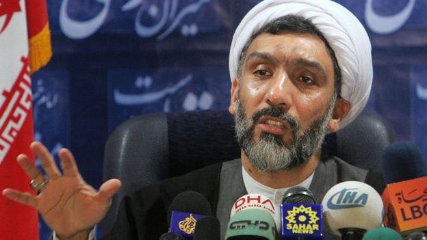 وزير العدل الإيراني مصطفى بور محمدي،